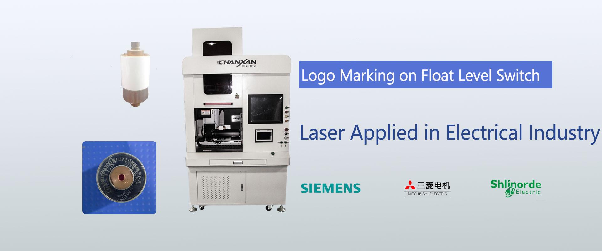 laser marking on switch