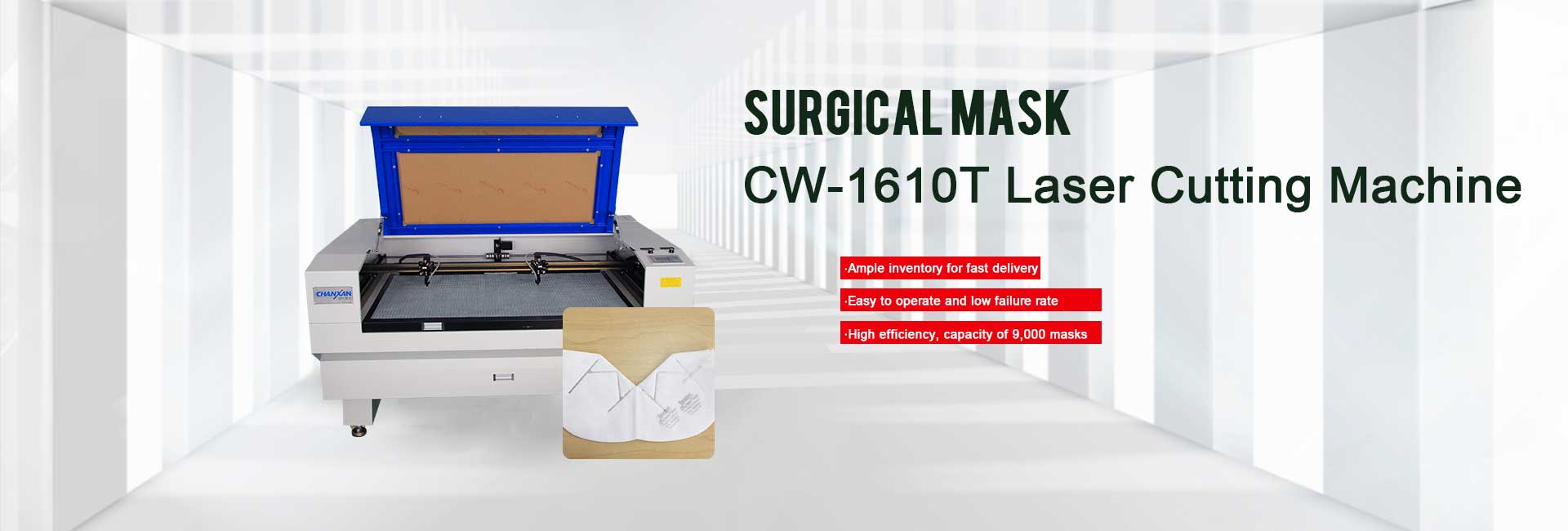 laser cutting mask
