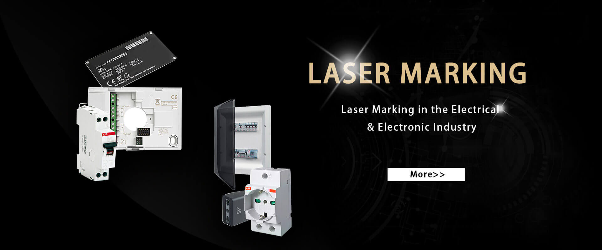 Laser Marking of Electronics