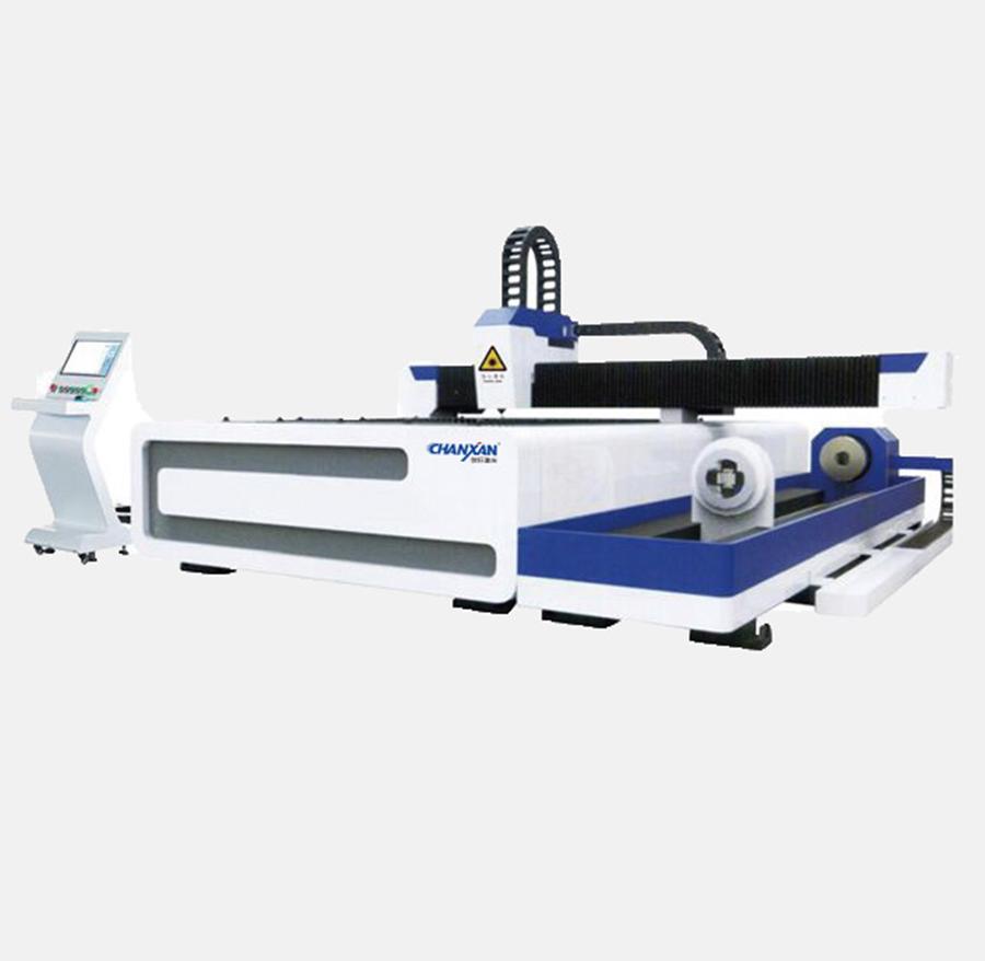 tube-plate dual-purpose laser cutting machine