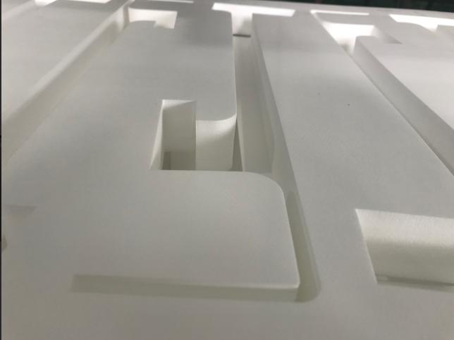 a lazer cutter to cut eva foam