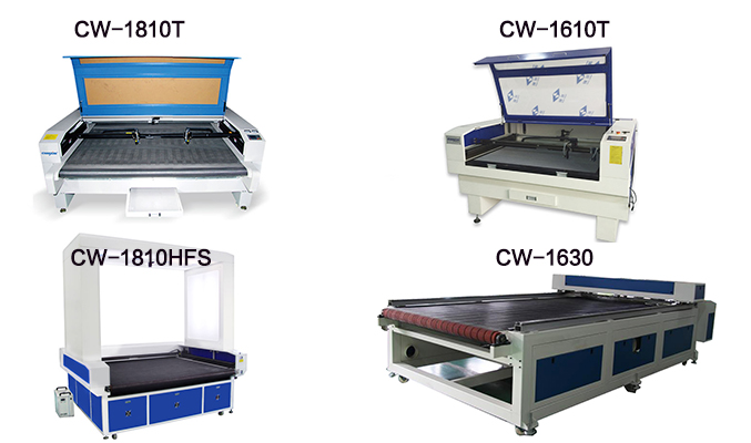 Fabrics and Leather Laser Cutting Machine CW1810