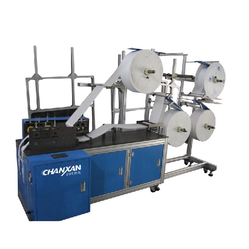 Semi Automatic KN95 Mask Making Machine