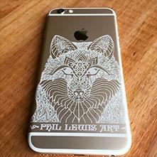 Laser engraving smartphones, tablets, laptops