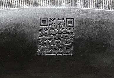2D Barcodes Laser Etching Machine