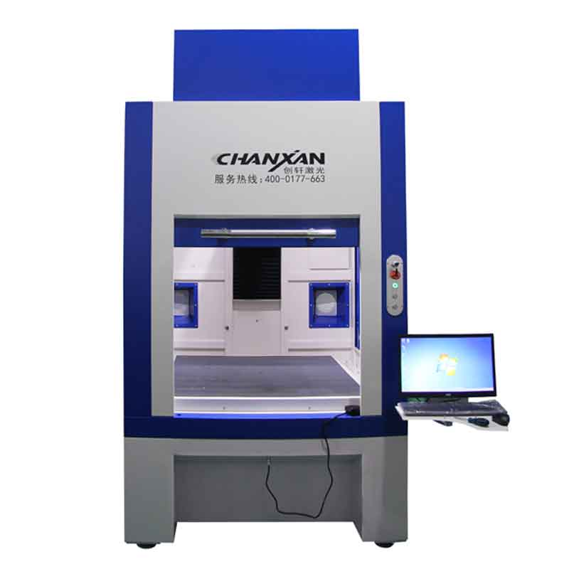 Automatic Galvo Laser Engraving Machine for Jeans Denim Fabric