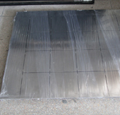 Stainless-steel platform