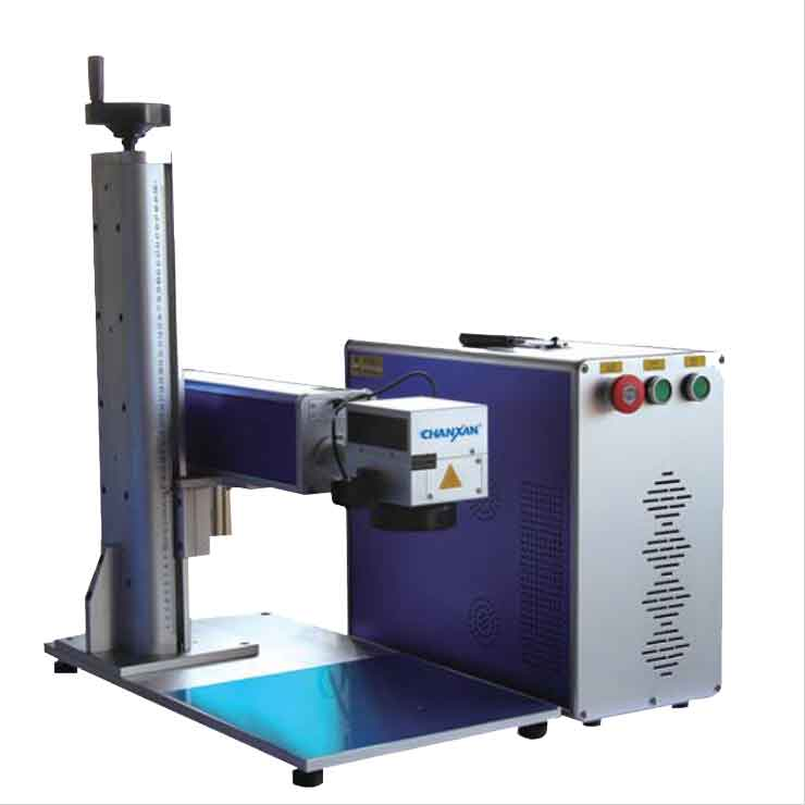 CX-20GP PORTABLE FIBER LASER MARKING MACHINE