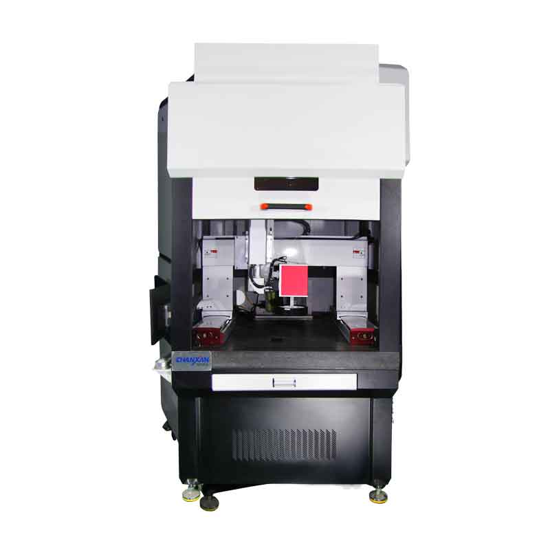 CX-HV VISUAL POSITIONING LASER MARKING  MACHINE WITH MOVING MARKING HEAD