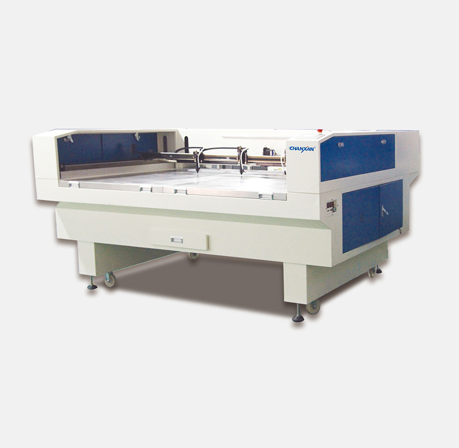 CW-1910T Nonwoven cleaning cloth cnc co2 laser cutting machine
