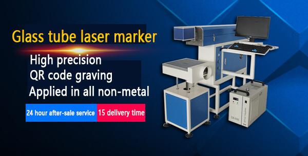 Glass tube laser marker