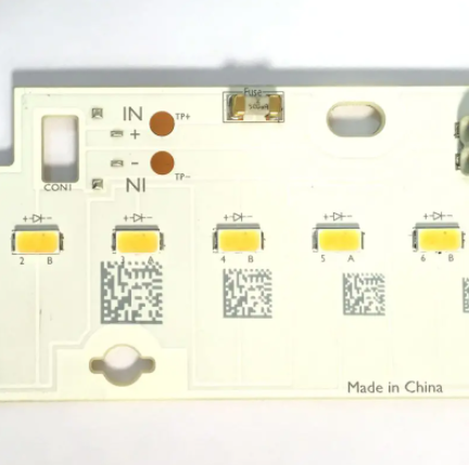 Barcodes and serial numbers laser engraving on Printed Circuit Board
